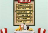 Retro Diner Wall Murals 50s Bedroom Ideas 50s theme Decor 1950s Retro Decorating