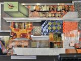 Retro Diner Wall Murals Custom Artwork at the Plainview Diner is Done by Dean