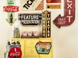 Retro Diner Wall Murals Exclusive Vintage Map Collection 40 Piece Wall Art Wall