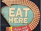 Retro Diner Wall Murals Home Decor Retro Diner Kitsch Kitchen Wall Art by Creative