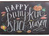 Retro Diner Wall Murals Sumik Happy Pumpkin Spice Season Metal Tin Sign Vintage Art Poster Plaque Kitchen Home Wall Decor