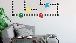 Retro Game Wall Mural Amazon Pacman Game Wall Decal Retro Gaming Xbox Decal