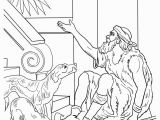 Rich Man and Lazarus Coloring Page Excellent Rich Man and Lazarus Coloring Page Free Christian Pages