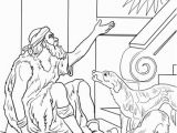 Rich Man and Lazarus Coloring Page Lazarus and the Rich Man Coloring Page