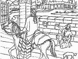 Rich Man and Lazarus Coloring Page the Rich Man and Lazarus Coloring Page