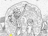 Rick and Morty Coloring Pages Printable 24 Best Rick and Morty Images