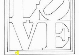 Robert Indiana Love Coloring Page 24 Best Robert Indiana Images On Pinterest