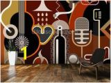 Rock Band Wall Murals Music and Musicians Wallpaper