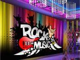 Rock N Roll Wall Mural Us $9 35 Off Duża Streszczenie Rock N Roll Muzyka Ktv 3d Pokoju Tapety Krajobraz Zdjęcie Tapeta Na ścianę 3 D Salon Mural Rolki Decor Naklejka W
