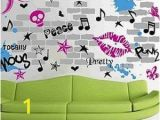 Rock Star Wall Murals Urban Chick Wall Decals Cool Wall Decals