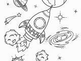 Rocket Ship Coloring Pages Pdf Space Coloring Pages for Kids with Rocket Printable Free