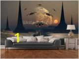 Rocket Ship Wall Mural 61 Best Fantasy and Sci Fi Wall Murals Images