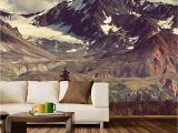 Rocky Mountain Wall Mural Alaskan Denali Highway Wall Mural