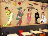 Roller Coaster Wall Mural Custom Retro Papel De Parede Japanese Personalities Murals for Restaurant Sushi Restaurant Living Room Wall Home Decor Wallpaper