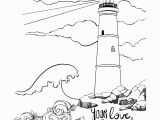Romans 8 28 Coloring Page Lighthouse Coloring Pages even In Stormy Seas Your Love Surrounds Me
