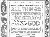 Romans 8 28 Coloring Page Two Bible Coloring Pages Romans 8 28 and Romans 2 12