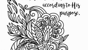 Romans 8 28 Coloring Page Zen Tangle Swirl Romans 8 28 Adult Coloring Page All Things Work