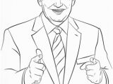 Ronald Reagan Coloring Pages Donald Trump Coloring Page From Politics Category Select From