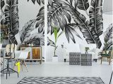 Rooms with Wall Murals Black and White Wall Murals and Photo Wallpapers