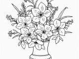 Rose Bouquet Coloring Pages Free Coloring Books for Adults