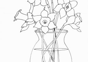 Rose Bouquet Coloring Pages How to Paint Daffodils