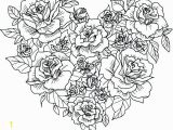 Rose Mandala Coloring Pages Detailed Rose Coloring Pages Here is A Coloring Page with