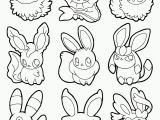 Roselia Coloring Pages Elegant Coloring Pages or Cute Eevee