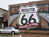 Route 66 Wall Mural Panoramio Of Route 66 Mural On the Back Wall Of the