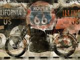 Route 66 Wall Mural Pin On Ollies Room