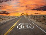 Route 66 Wall Mural Route 66 Buscar Con Google Viaje Costa Oeste