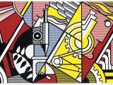 Roy Lichtenstein Wall Mural Roy Lichtenstein Lose In Unserem Preisarchiv Lotsearch