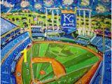 Royals Stadium Wall Mural 21 Best Murals Images