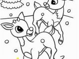 Rudolph and Clarice Coloring Pages 55 Best Rudolph Coloring Pages Images On Pinterest