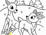 Rudolph and Clarice Coloring Pages Rudolph the Red Nosed Reindeer Coloring Pages On Coloring Bookfo