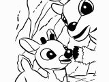 Rudolph and Clarice Coloring Pages Santa S Reindeer Coloring Pages Best Pictures to Color 25 Santas and