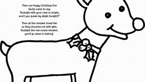 Rudolph the Red Nosed Reindeer Coloring Pages Rudolph the Red Nosed Reindeer Coloring Pages Coloring Pages