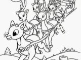 Rudulph Coloring Pages Red Nose Reindeer Coloring Pages Rudolph