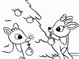 Rudulph Coloring Pages Rudulph Coloring Pages Coloring Pages and Decorated Regarding 9