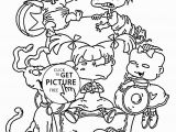 Rugrats Go Wild Coloring Pages Color Pages Coloring Pages for Heaven Heavenly Citizenship