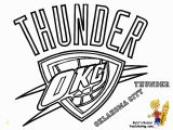 Russell Westbrook Coloring Pages Thunder Basketball Logo