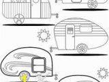 Rv Coloring Pages Best Embroidery Images On Pinterest