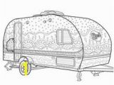Rv Coloring Pages Camper Picture Drawing Recherche Google