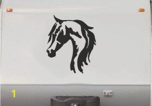 Rv Murals Equestrian Horse Horseback Riding Trailer Camping Rv Camper Vinyl