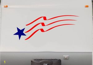 Rv Murals Flag Stars and Stripes Rv Camper 5th Wheel Motorhome Vinyl Decal
