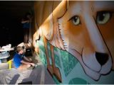 Rv Murals Full Color City Artists Paint New Mural In Downtown Casper