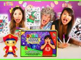 Ryan S Mystery Playdate Coloring Pages Nickelodeon Ryans Mystery Playdate Coloring Pages