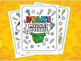 Ryan S Mystery Playdate Coloring Pages Ryan S Mystery Playdate Colouring