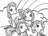 Ryan toys Coloring Pages Ponies and Rainbow Coloring Page