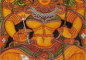 Sacred Art Murals Lalitha Tripurasundari Kerala Mural Devotional