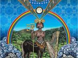 Sacred Art Murals the Centaur by Noa Knafo Sacred Geometry 3 Psy Art